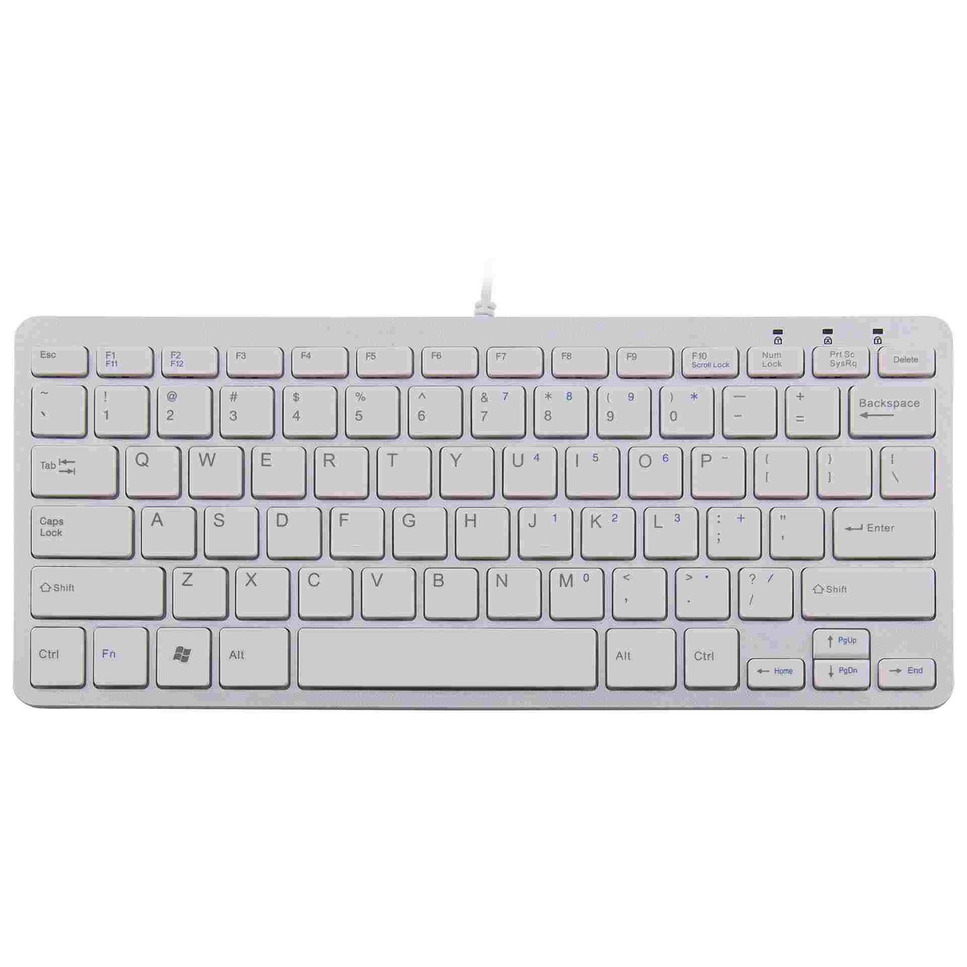 Ergostars compact keyboard wit
