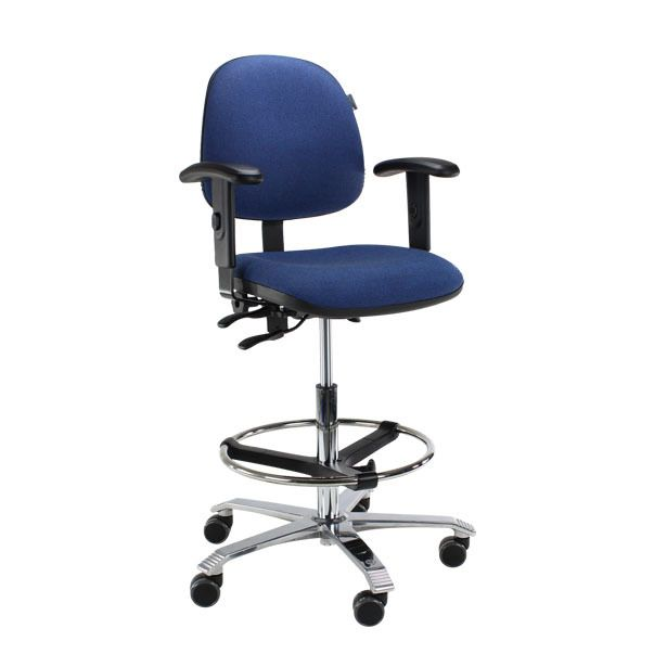 Score Ergo 2302 ergonomische bureaustoel 0001 blauw