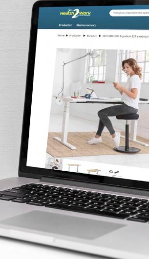 Je eigen online bestelomgeving voor een gezonde thuiswerkplek