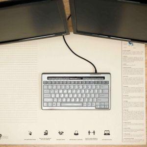 Ergowork papieren bureau onderlegger - rechthoekig