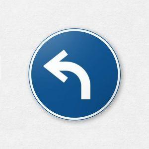 Ergowork bord - eenrichtingsverkeer