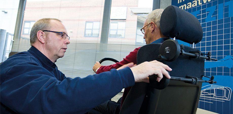 Ergonomische ondersteuning in je auto