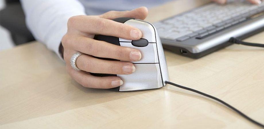 Kies de juiste ergonomische muis!