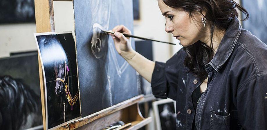Maatwerkoplossing voor kunstenares Mirelle
