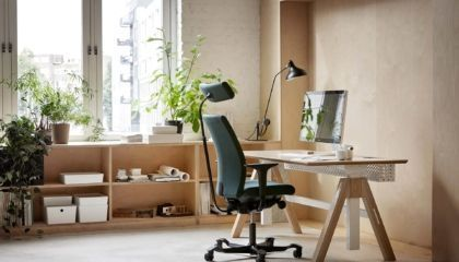 Actief zitten met een ergonomische bureaustoel