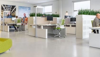 Ergonomische omgevingsfactoren op kantoor