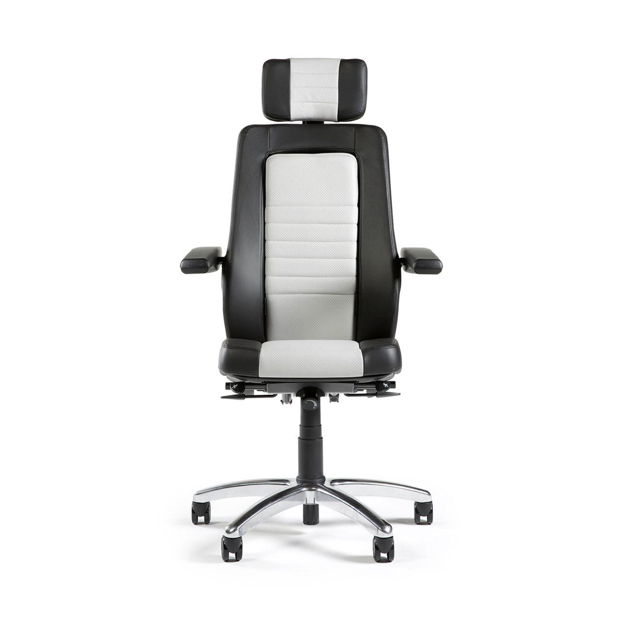 bma axia focus 24 7 bureaustoel grijs STKAAXFOC01 Voorkant