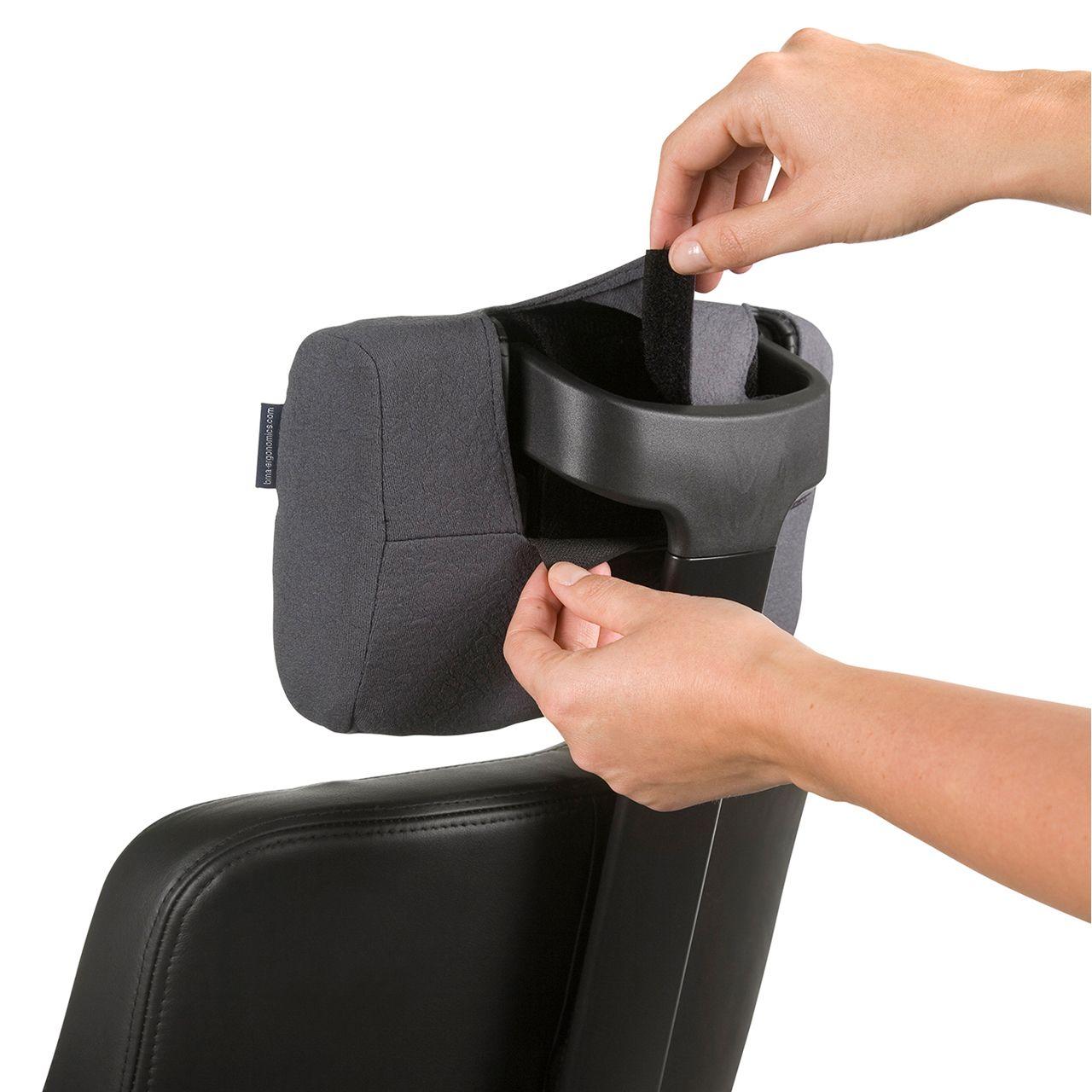 bma axia focus 24 7 bureaustoel grijs STKAAXFOC01 Neksteun