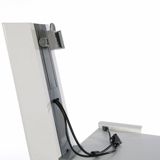 quickstand werkstation ERKANQUICK02 kabelmanagement