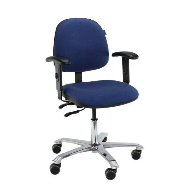Score 2300 ergonomische bureaustoel blauw