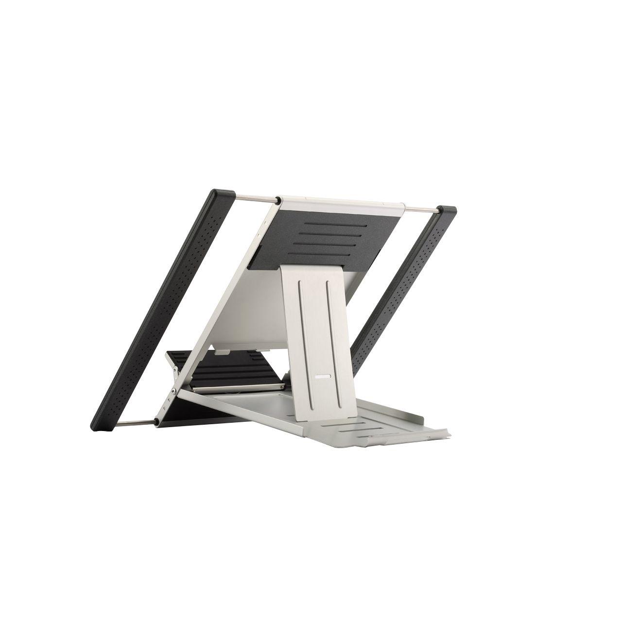 ergostar laptopstand flexible laptophouder ERKASC01 Schuinachter