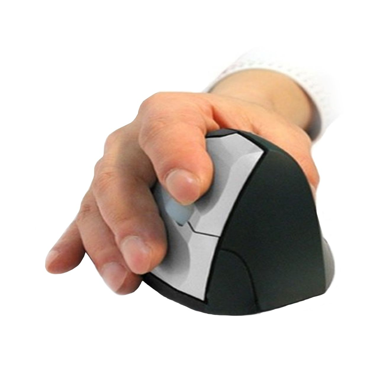 Evolution Mouse Verticale muis Voorkant + Hand