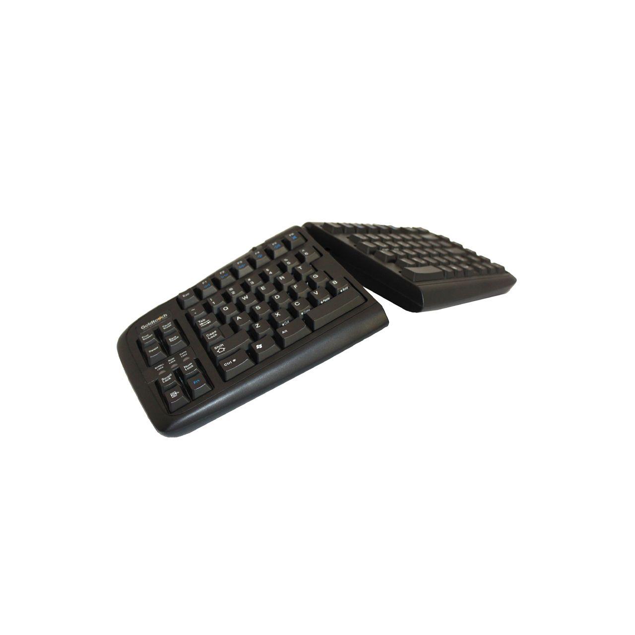goldtouch adjustable v2 toetsenbord ERKAGOL300 Schuin