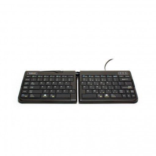 goldtouch travel gesplitst toetsenbord ERKAGOL303 voorkant