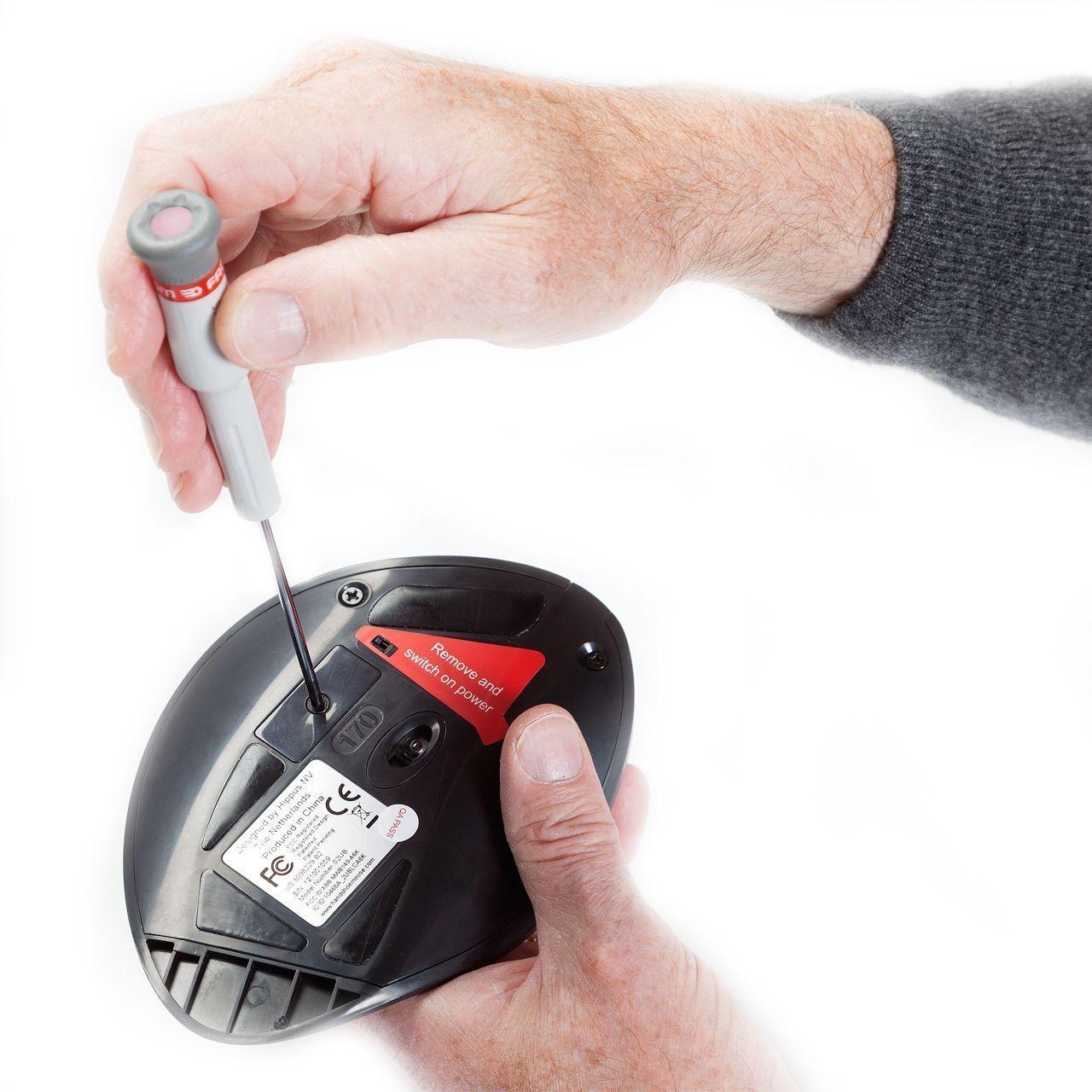 handshoe mouse medium muis draadloos links Detail
