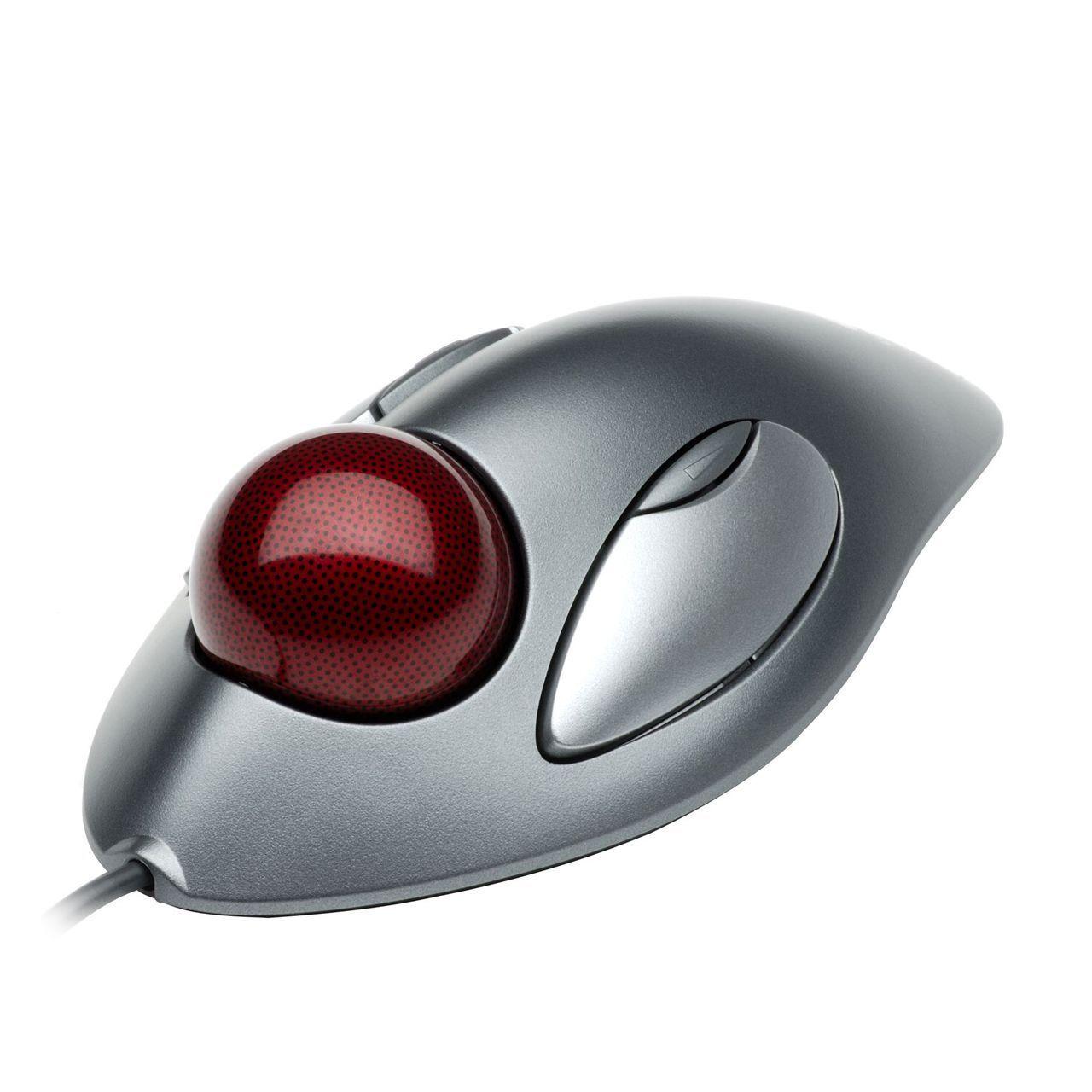 Logitech Marble Mouse ERKALOG117 voorkant rechts