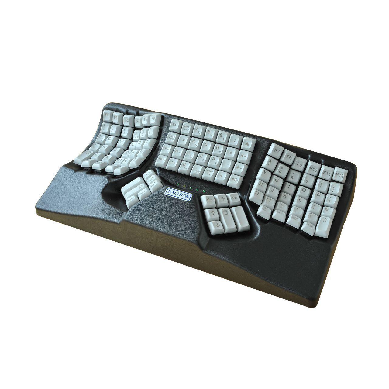 Maltron 3D Ergonomisch toetsenbord schuin zonder knop