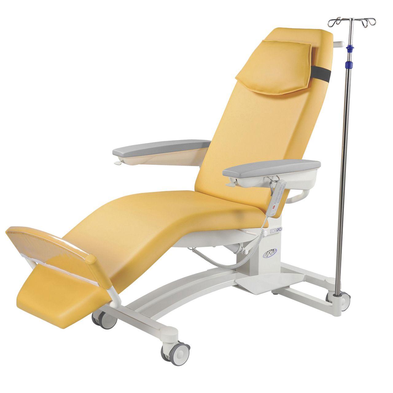 Pura Behandelstoel schuin met infuus