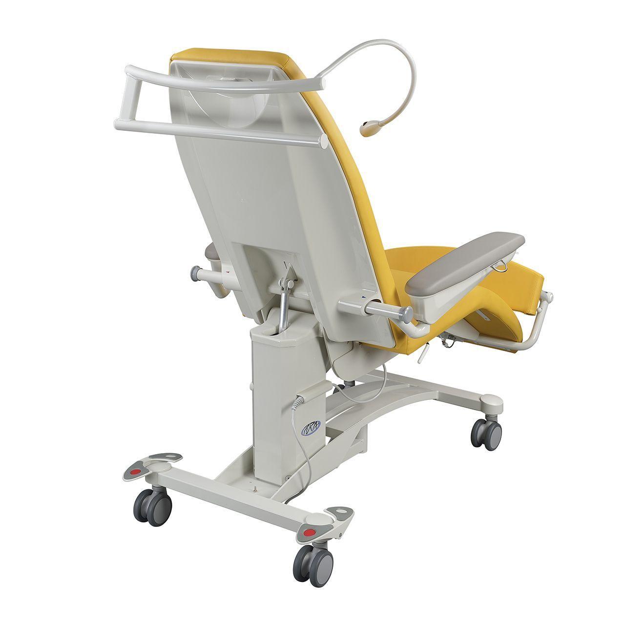 Pura Behandelstoel achterkant