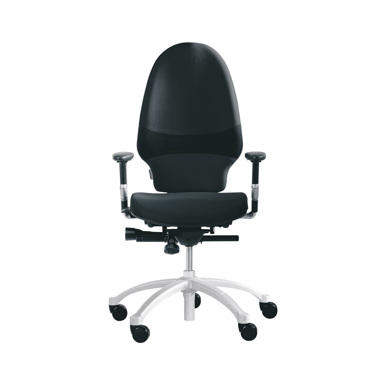 rh exrh extend large 220 bureaustoel STKAEXT203 zwart Voorkant