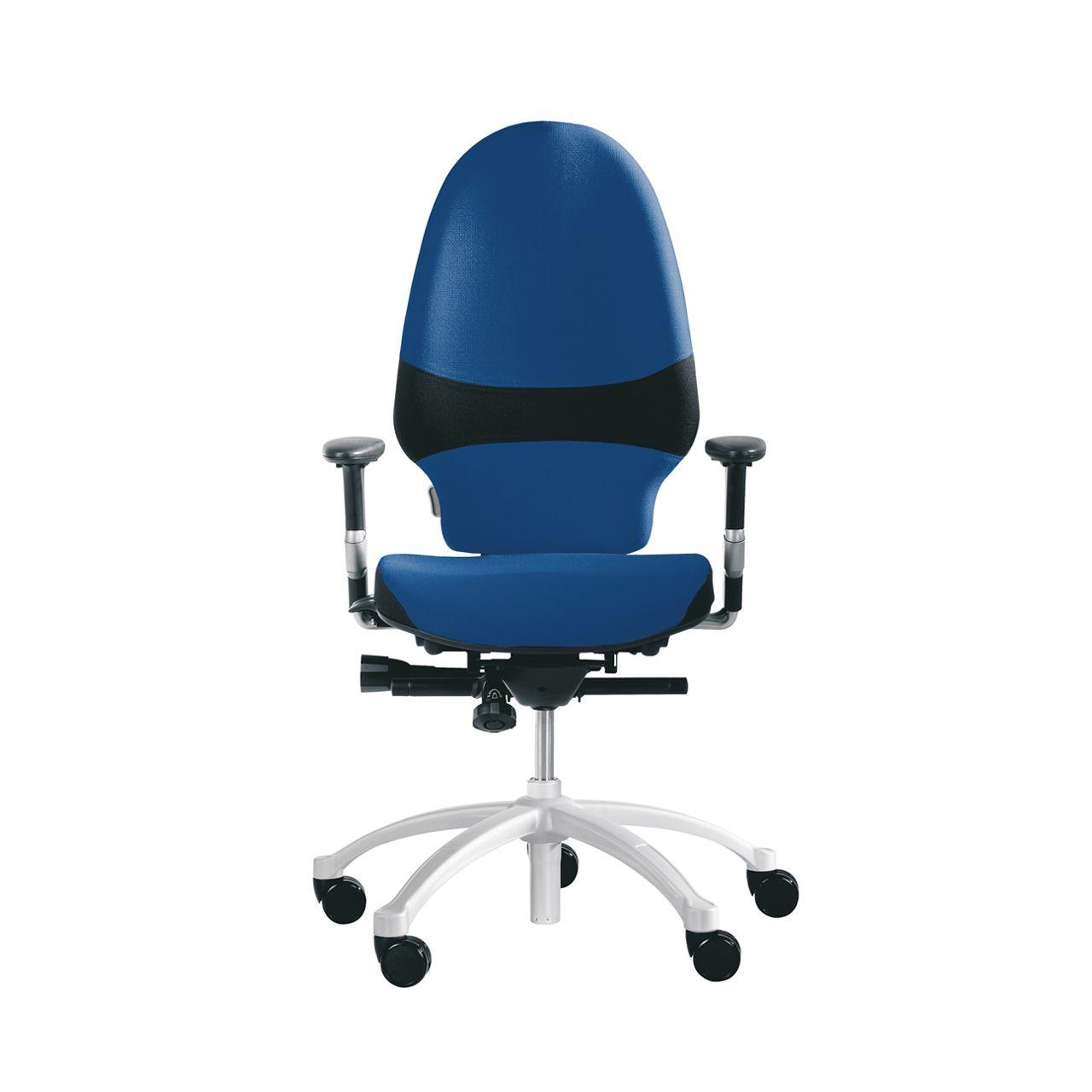 rh exrh extend large 220 bureaustoel STKAEXT203 Blauw Voorkant