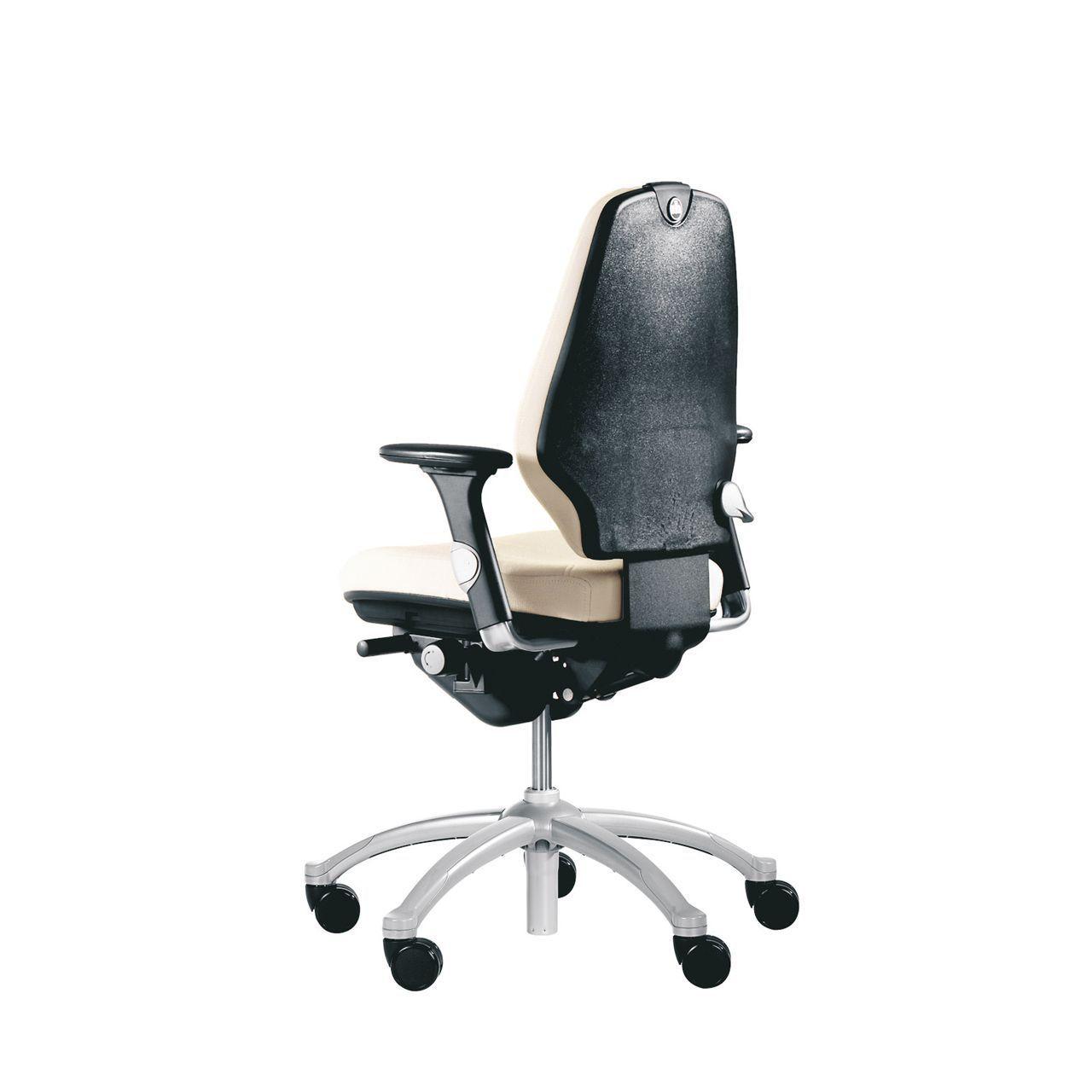 rh logic 300 24 7 ergonomische bureaustoel STKARH304 Achterkant