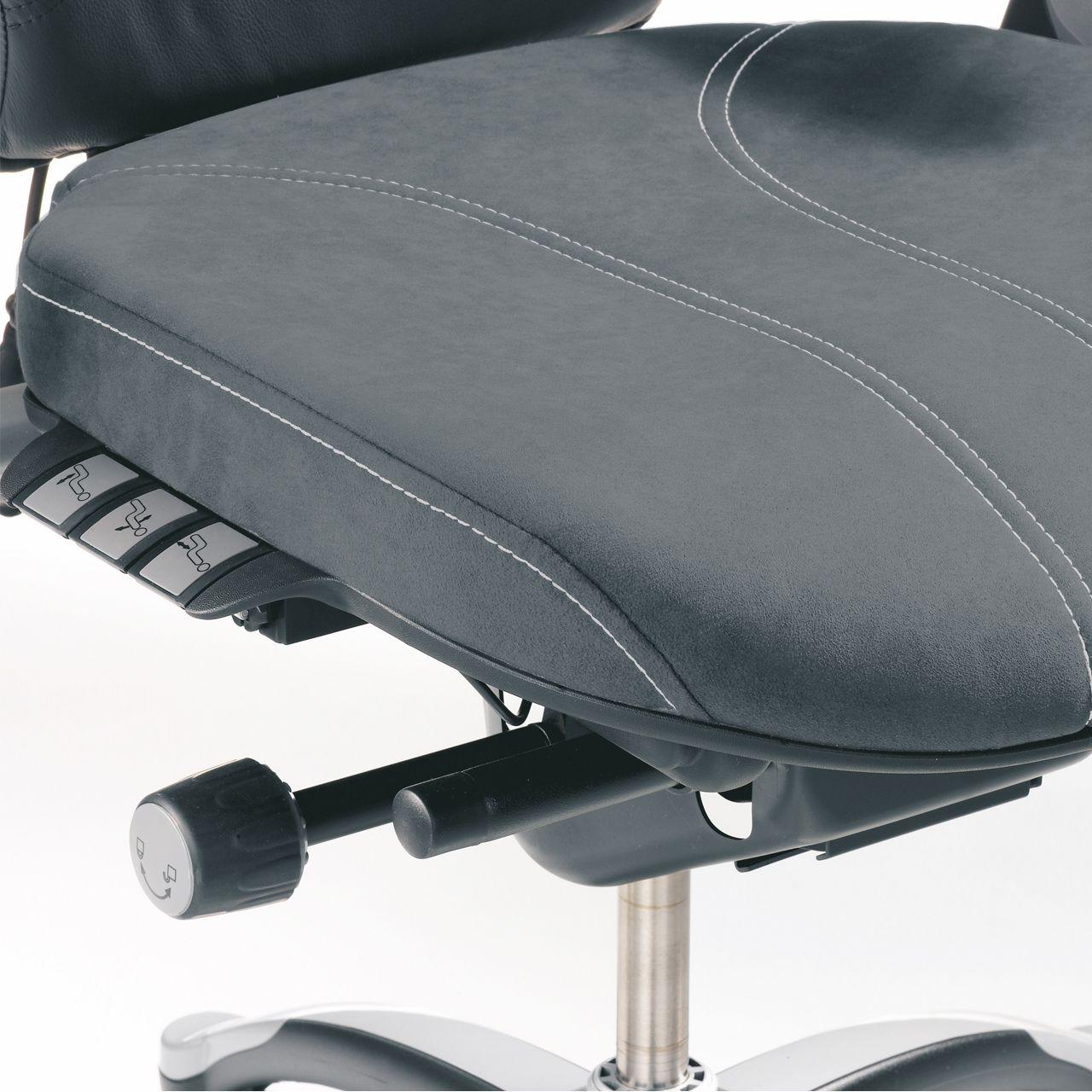 rh logic 300 xl bureaustoel STKALOG303 detail