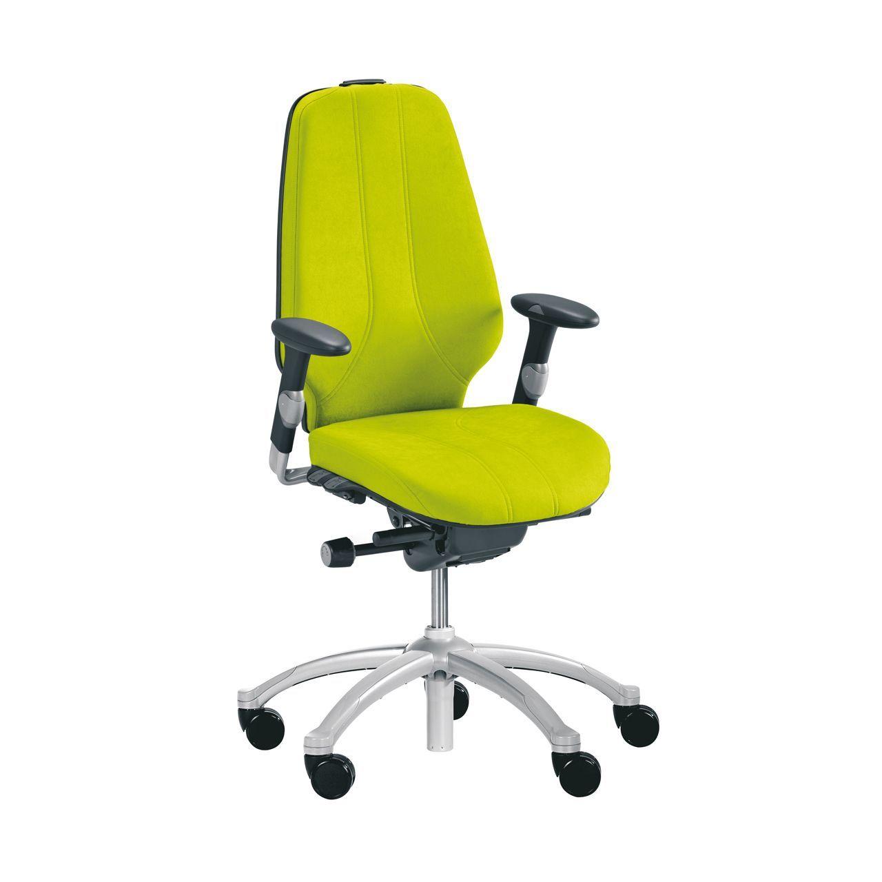 rh logic 400 24 7 ergonomische bureaustoel STKARH303 Geel