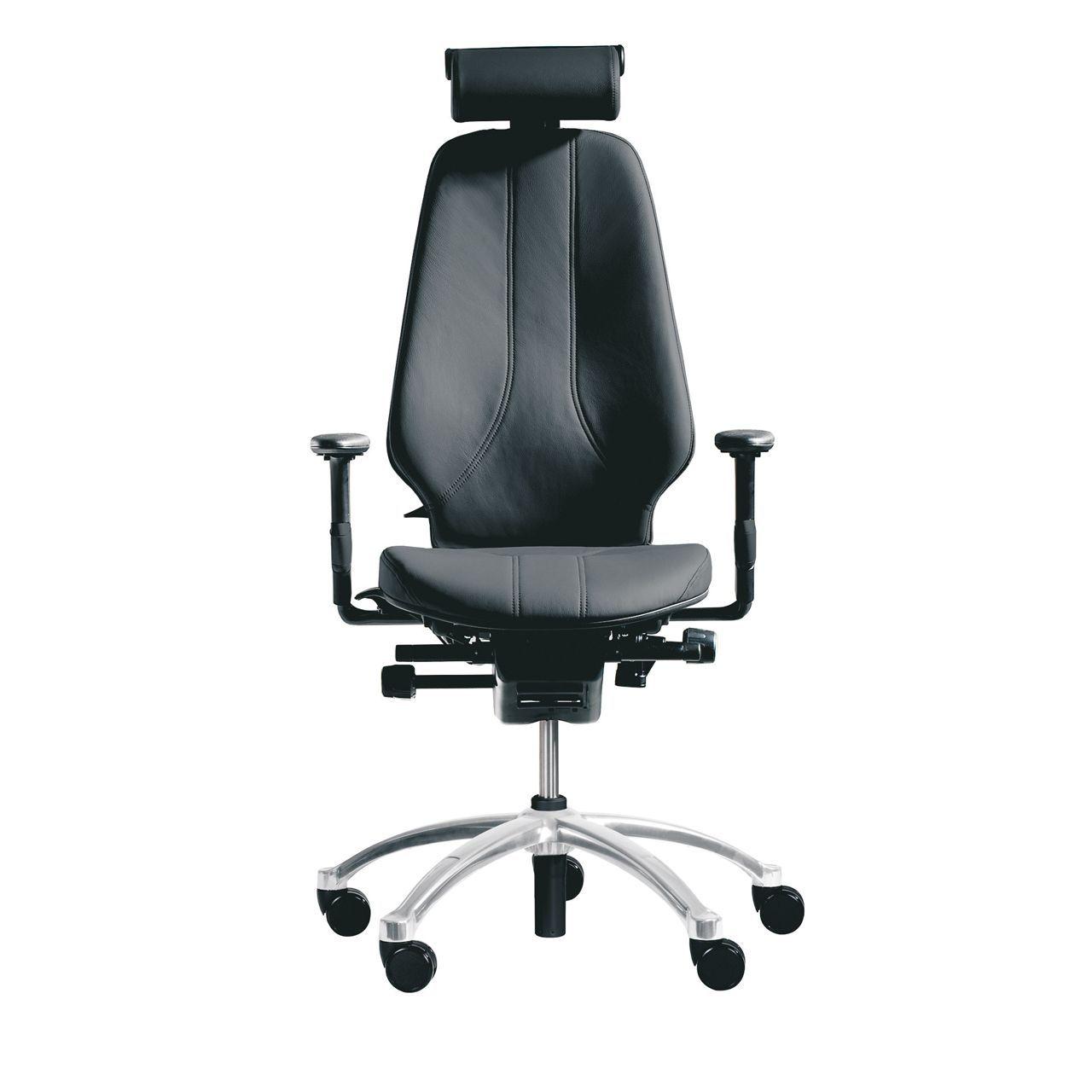 rh logic 400 24 7 ergonomische bureaustoel STKARH303 Leer