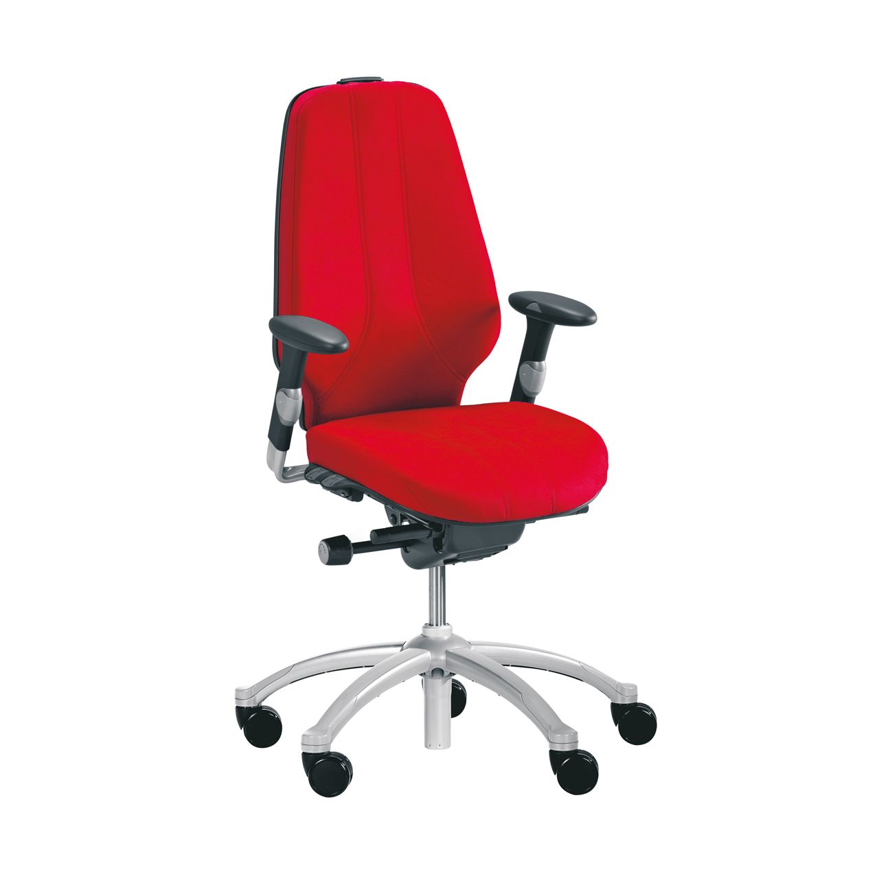 rh logic 400 24 7 ergonomische bureaustoel STKARH303 Rood