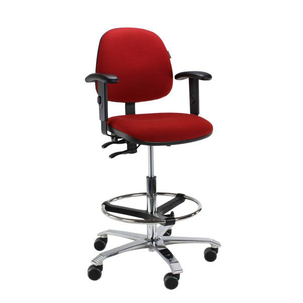 Score Ergo 2302 ergonomische bureaustoel rood