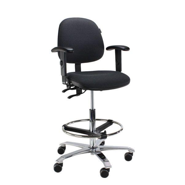 Score Ergo 2302 ergonomische bureaustoel grijs