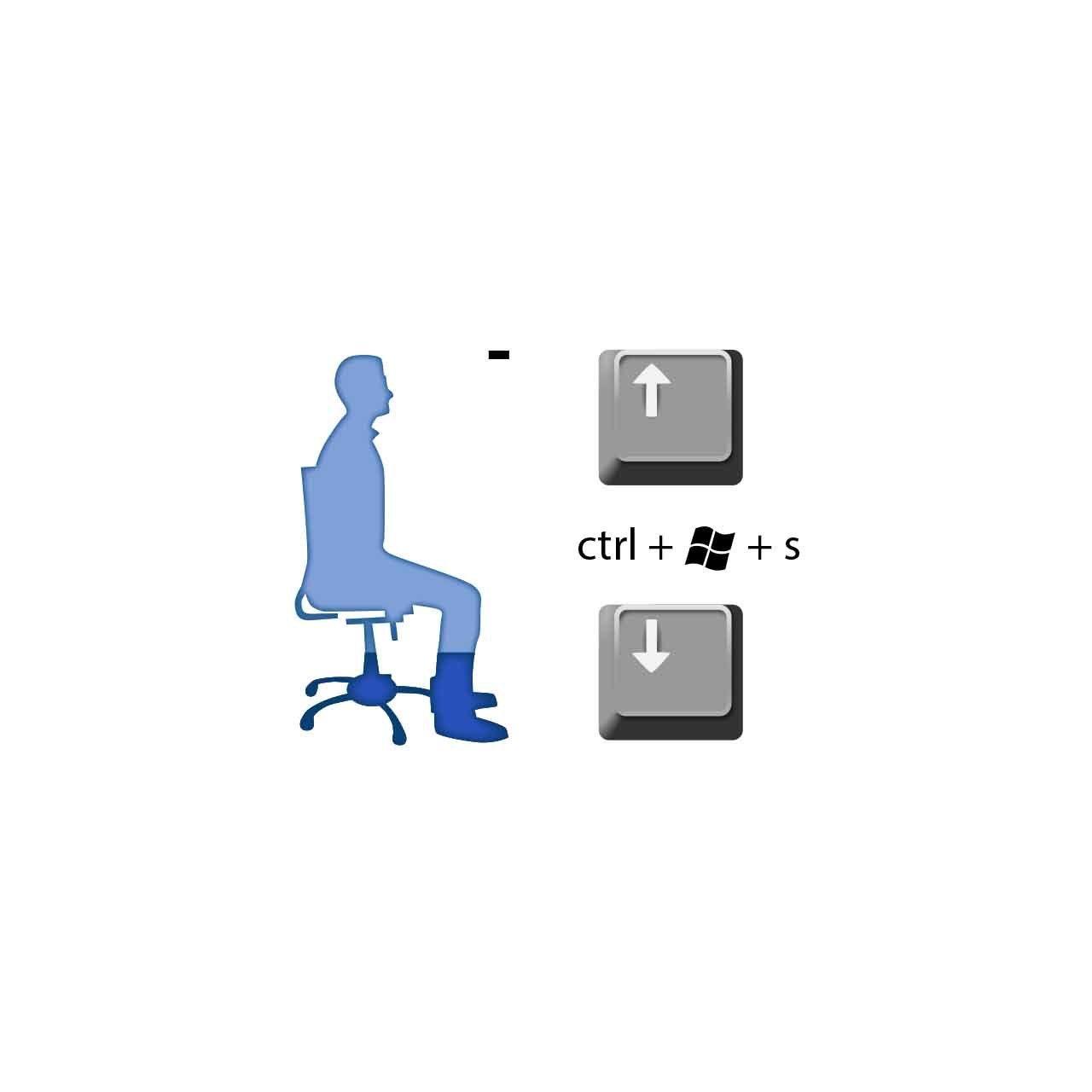 SitStandCoach arbo software ctrl + windows + s
