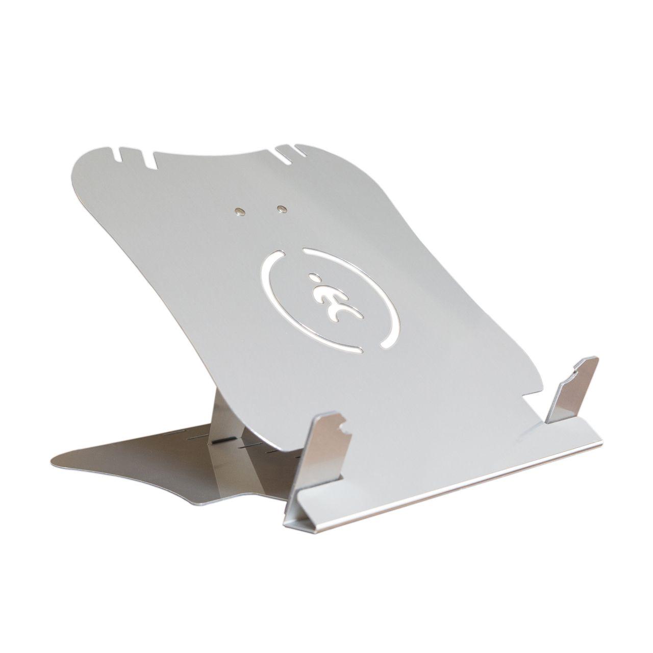 Topmate II laptopstandaard Detail zijkant