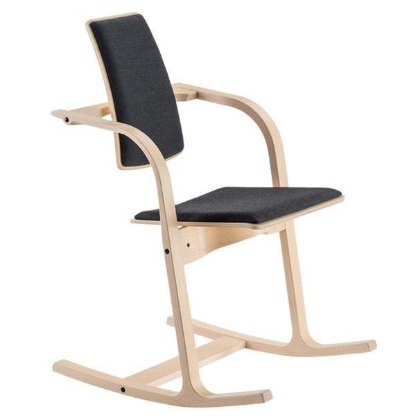 varier stokke actulum balansstoel STKASTO112 schuin