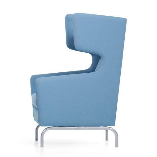 Akoestische zitbank Visit - blauw